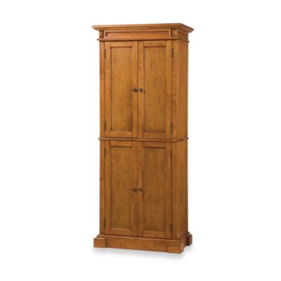 Home Styles Americana Hardwood Pantry in Oak