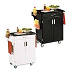 Home Styles Cuisine Wood Kitchen Cart