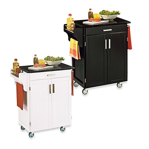 Home Styles Cuisine Wood Kitchen Cart Bed Bath Beyond