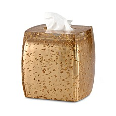 Gold Rush Boutique Tissue Holder