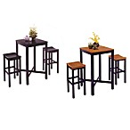 Home Styles Hardwood 3-Piece Pub Table Set