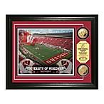 University of Wisconsin Camp RandAll Stadium 24K Gold Plate Coin Photo Mint Frame