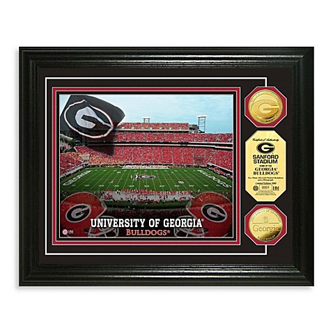 University of Georgia 24K Gold-Plated Coin Photo Mint Frame