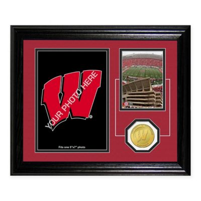 University of Wisconsin Fan Memories Desktop Photo Mint Frame