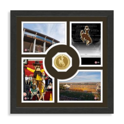 University of Wyoming Fan Memories Minted Coin Photo Frame