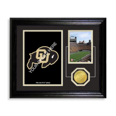 University of Colorado Fan Memories Desktop Photo Mint Frame