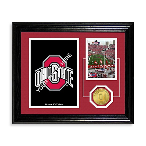 Ohio State Fan Memories Desktop Photo Mint Frame