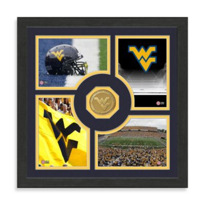 West Virginia University Fan Memories Minted Bronze Coin Photo Frame