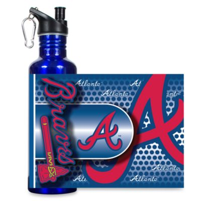 Atlanta Braves Stainless Steel Water Bottle