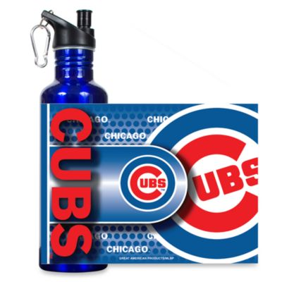 Chicago Cubs Stainless Steel Water Bottle