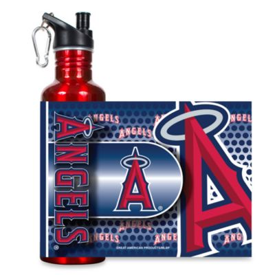 Los Angeles Angels of Anaheim Stainless Steel Water Bottle