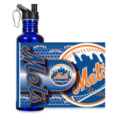 New York Mets Stainless Steel Water Bottle