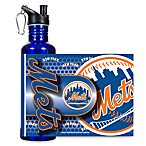 New York Mets Stainless Steel Water Bottle