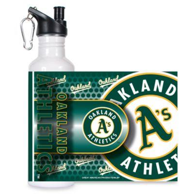 Oakland Athletics Stainless Steel Water Bottle
