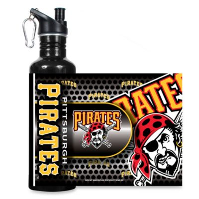 Pittsburgh Pirates Stainless Steel Water Bottle