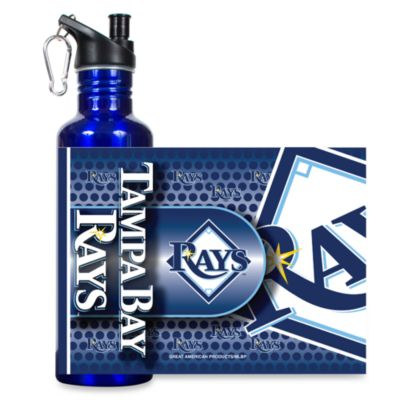 Tampa Bay Rays Stainless Steel Water Bottle