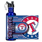 Texas Rangers Stainless Steel Water Bottle