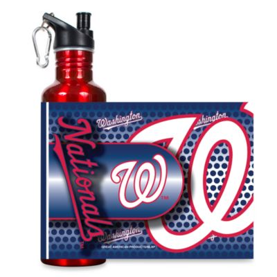 Washington Nationals Stainless Steel Water Bottle