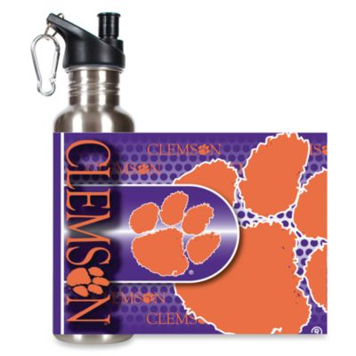 Clemson University Stainless Steel Water Bottle