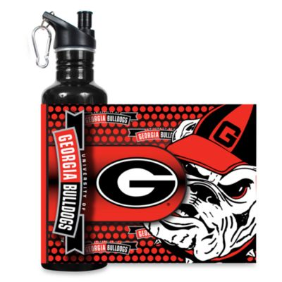 University of Georgia Stainless Steel Water Bottle