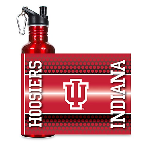 Indiana University Stainless Steel Water Bottle