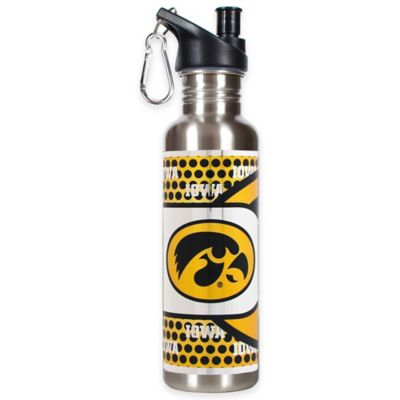 University of Iowa Stainless Steel Water Bottle