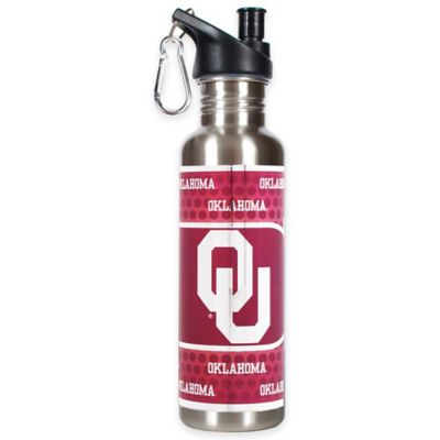 University of Oklahoma Stainless Steel Water Bottle