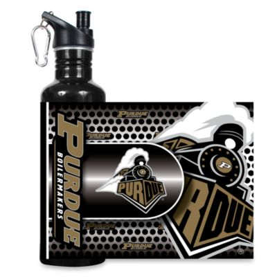 Purdue University Stainless Steel Water Bottle