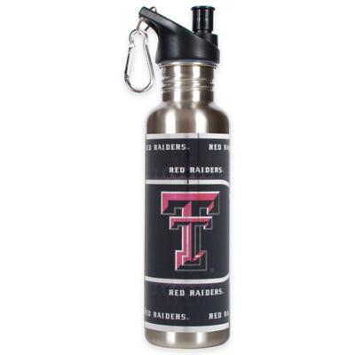 Texas Tech University Stainless Steel Water Bottle