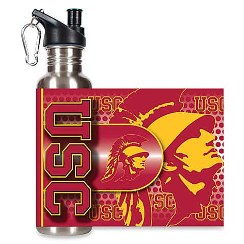 USC Stainless Steel Water Bottle