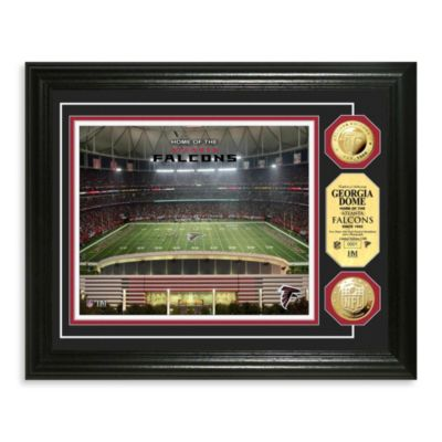 Atlanta Falcons NFL® Stadium Gold Coin Photo Frame