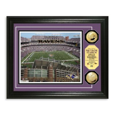 Baltimore Ravens NFL® Stadium Gold Coin Photo Frame