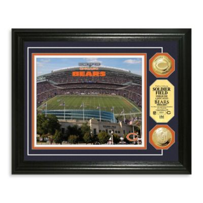 Chicago Bears NFL® Stadium Gold Coin Photo Mint