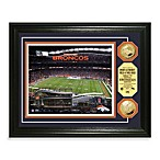 Denver Broncos NFL® Stadium Gold Coin Photo