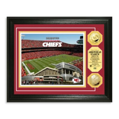Kansas City Chiefs NFL® Stadium Gold Coin Photo