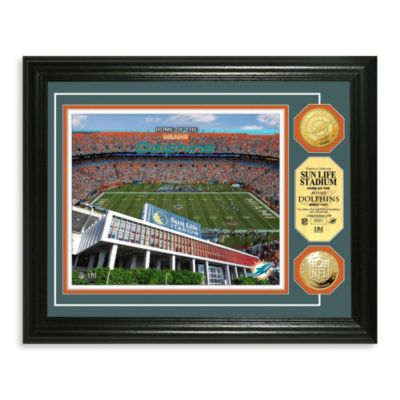 Miami Dolphins NFL® Stadium Gold Coin Photo Mint
