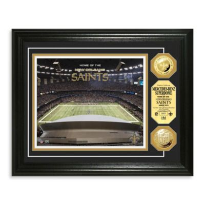 New Orleans Saints NFL® Stadium Gold Coin Photo Mint