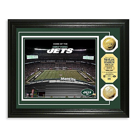 New York Jets NFL® Stadium Gold Coin Photo