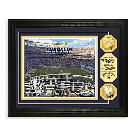 San Diego Chargers NFL® Stadium Gold Coin Photo