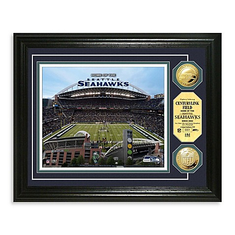 Seattle Seahawks NFL® Stadium Gold Coin Photo Mint