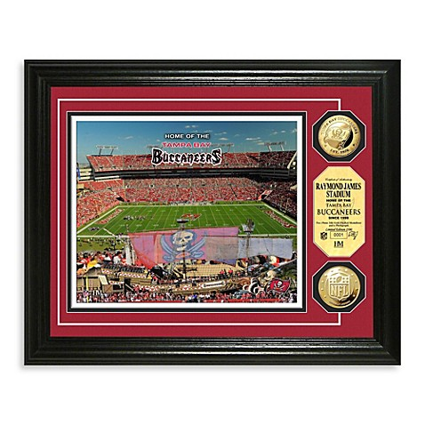 Tampa Bay Buccaneers NFL® Stadium Gold Coin Photo Mint