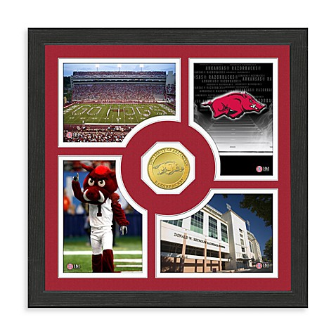 University of Arkansas Fan Memories Coin and Photo Frame