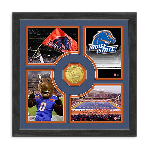 Boise State Collegiate Fan Memories Bronze Coin Photo Mint