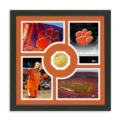 Clemson University Collegiate Fan Memories Bronze Coin Photo Mint