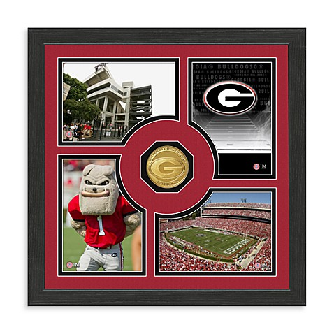 University of Georgia Fan Memories Minted Bronze Coin Photo Frame