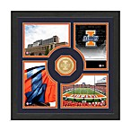 University of Illinois Fan Memories Minted Bronze Coin Photo Frame