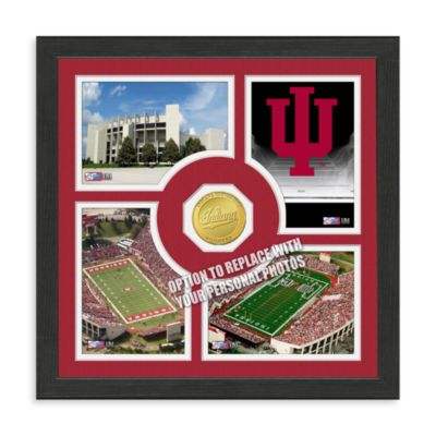 University ofindiana Fan Memories Minted Bronze Coin Photo Frame