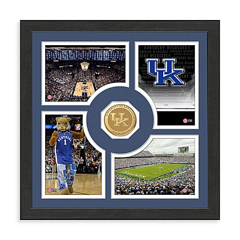 University of Kentucky Fan Memories Minted Bronze Coin Photo Frame