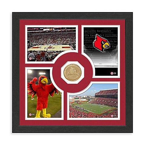 University of Louisville Fan Memories Minted Bronze Coin Photo Frame