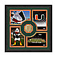 University of Miami Fan Memories Minted Bronze Coin Photo Frame